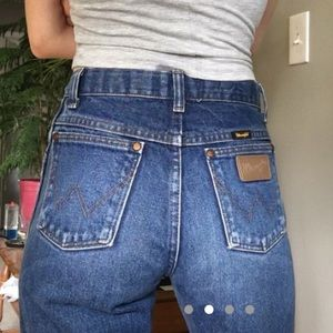 Vintage Wranglers high waist perfect fade jeans 24